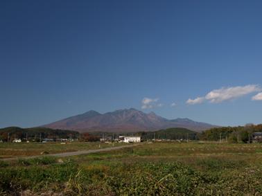 インターから八ヶ岳