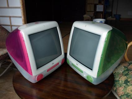 二つのiMac