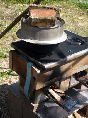 8ご飯を炊く