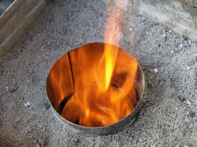 9火が起きる