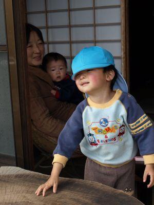 2保育園帽子