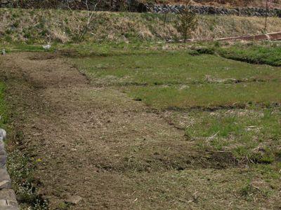 6下草を刈る