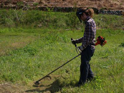1下草刈り
