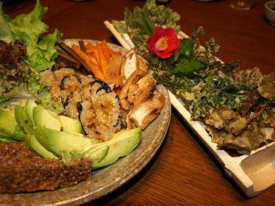 6天ぷらと手巻き寿司