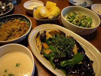 4野菜夕食