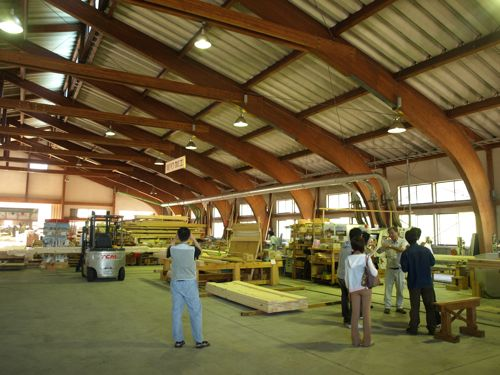 7プレカット工場