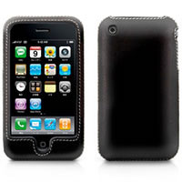 TUNEWEAR LeatherShell for iPhone 3G