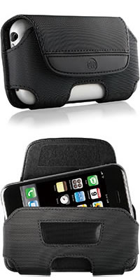 DLO HipCase for iPhone Black Nylon