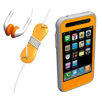 Sumajin Loop Sports Silicon Case for iPhone 3G