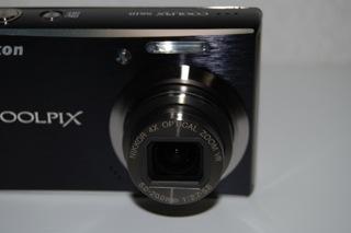COOLPIX S610 レンズ周り
