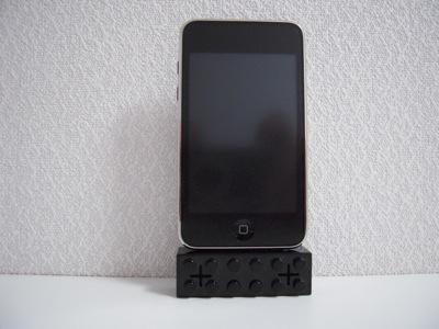 iPod touch 2Gとブロックスピーカー