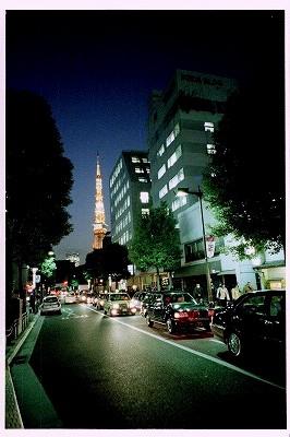 見返り東京タワー