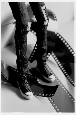momokoさんの足