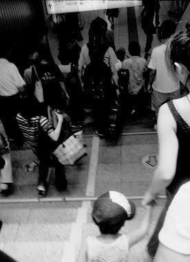 吉祥寺駅で