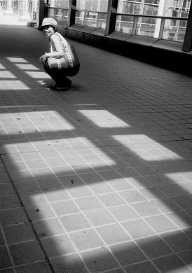 青海駅 モデル : Y嬢