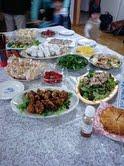 教会のイースター愛餐会