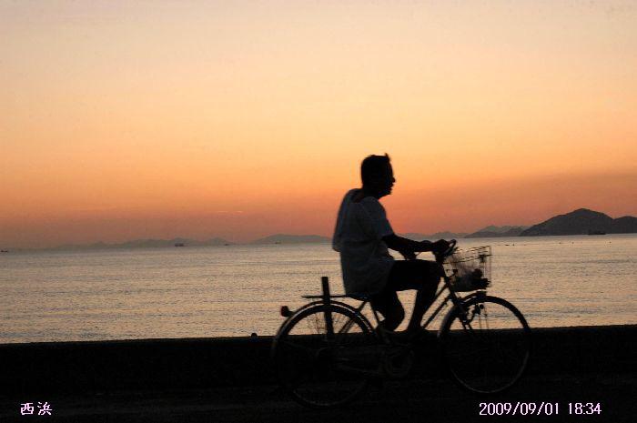 西浜の夕景 024