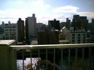 アノビルの向こうには大阪ドームがあると思う・・・?