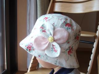 長女の帽子