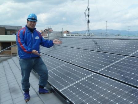 太陽光発電システムは「てくのハウスMAKINO城陽店」にお任せ!!