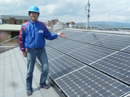 太陽光発電システムなら当店にお任せ下さい!!