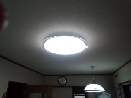 LEDシーリングライト完成