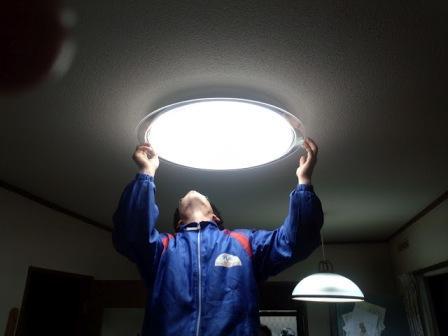 LED照明器具設置工事