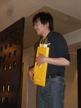 ⑥浅田君も初めての挑戦で見事と達成賞を頂きました!