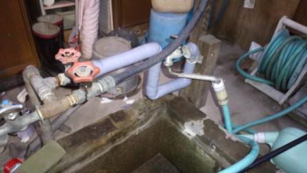 水道管補修済み