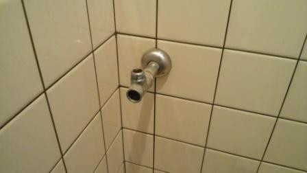 既存のアングル止水栓