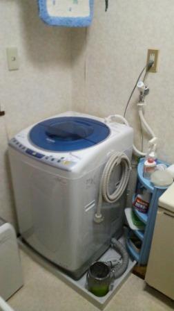 全自動洗濯機納品完了