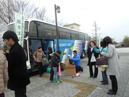 無事、近鉄寺田駅ロータリーに到着しました。