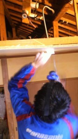 和室照明器具用シーリングコンセント工事