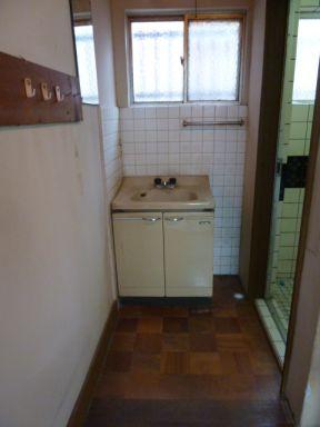 ビフォー 洗面台