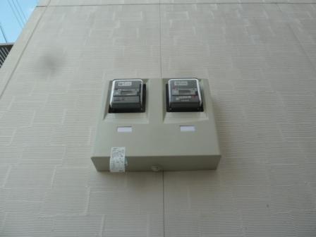 買電売電メーター設置完了