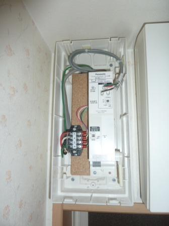 ワイヤレスパワー検出モニター設置完了