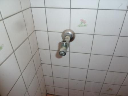 既存アングル止水栓
