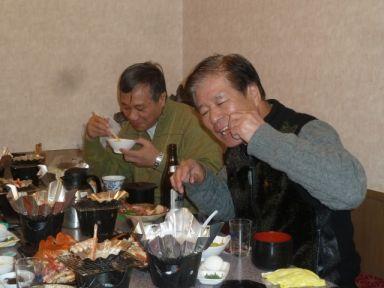 食べる会長と社長