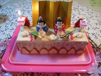 バースデーケーキー