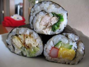 巻き寿司3種類
