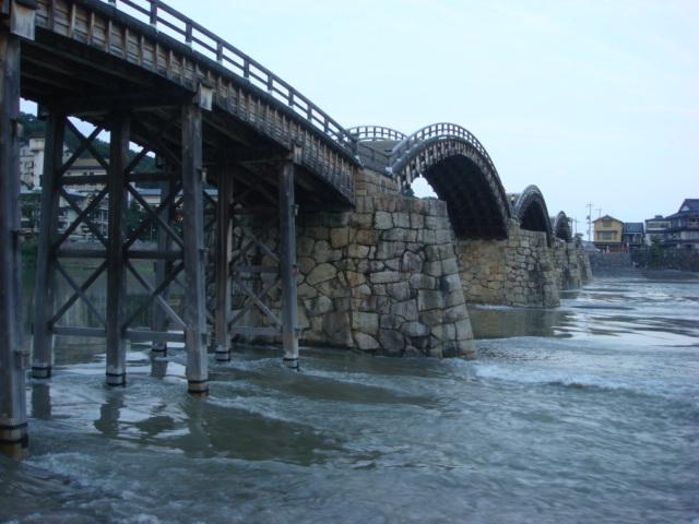錦帯橋じゃよ。