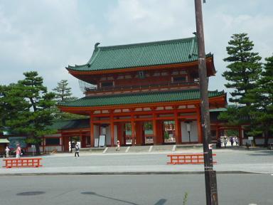 2010.8京都 平安神宮1
