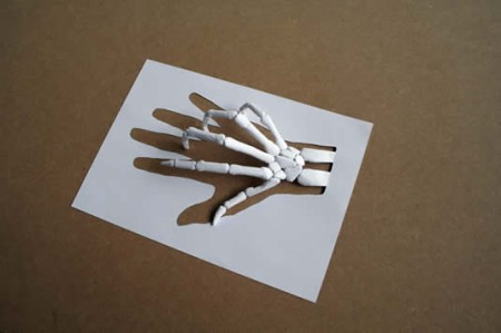 3D papercuttop