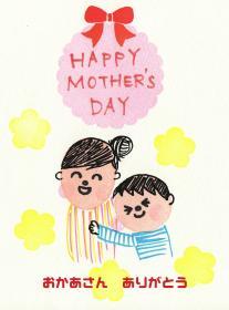 母の日カード例