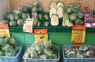 店内-野菜