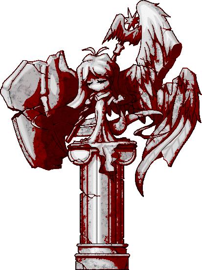 血の女神像