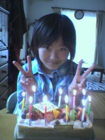 10歳誕生日