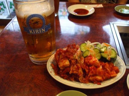 キムチ&ビール