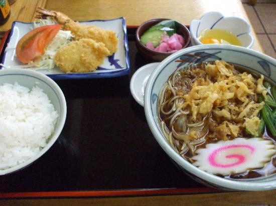 おそばご飯01
