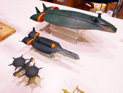 キャラホビ2009戦艦屋ブース(プローバー・ユーコン・マッドアングラー)